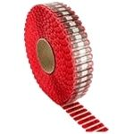 Rollo de Etiquetas APX para Microondas Roja